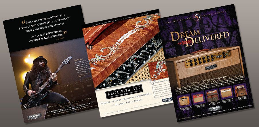 Magazine Ad Design | for Music Company