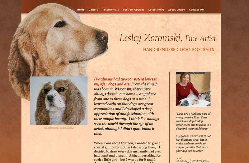 Pet Artist Website