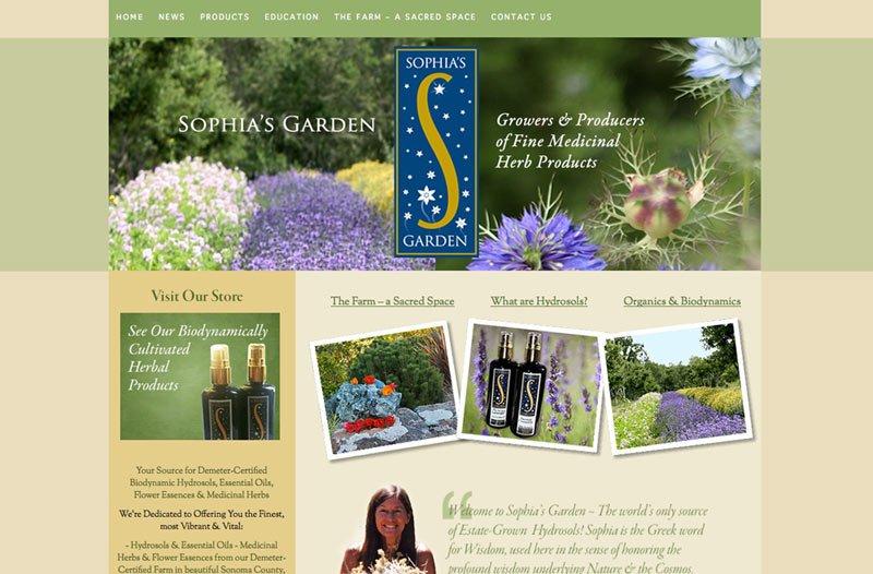 Biodynamic Farm Web Design