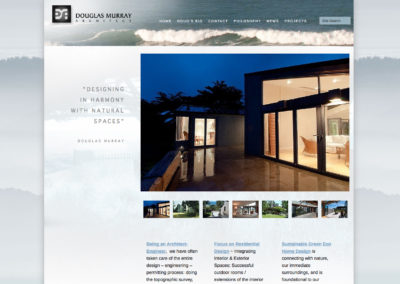 Architect Website Design