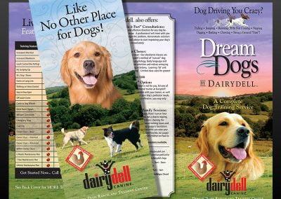Brochure Design for Dog Trainer