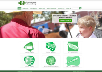 4H Website Design