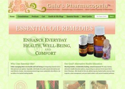 Alternative Health E-Commerce Website Design