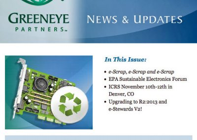 Tech Recycling Email Newsletter