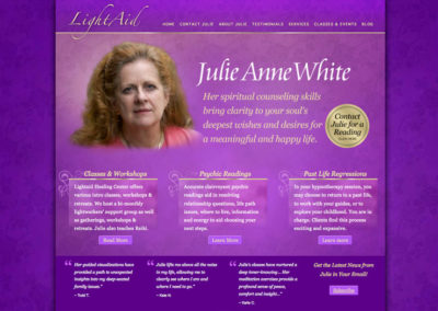 Psychic Services Website Design