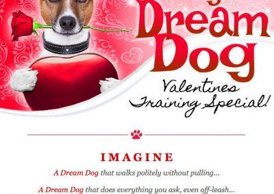 Valentine Promo for Dog Trainer