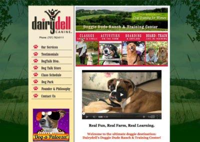 Canine Training Web Design