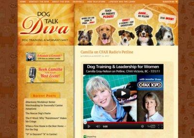 Dog Trainer Website Design