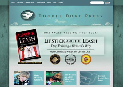 Publisher Website Design