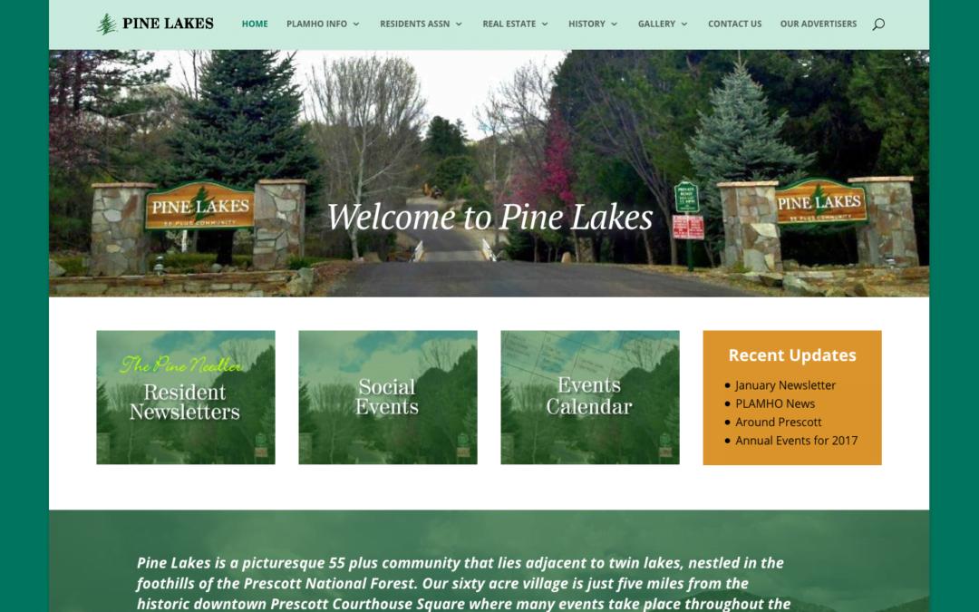 Senior Community Website Design