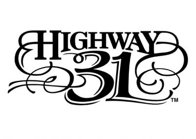 Highway 31 – Rock Band Logo Design