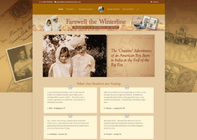Autobiography Website Design
