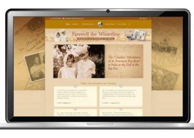 Autobiography Website Design