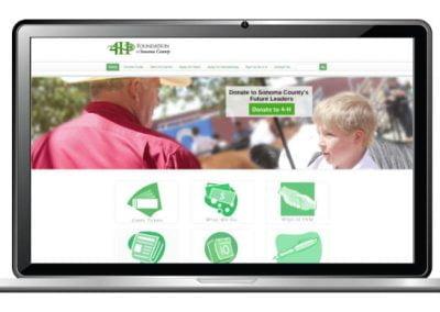 4H Website Design