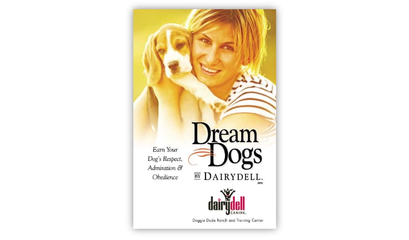 Dream Dogs Dog Training Booklet Design
