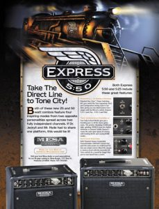 Guitar Amplifier Manufacturer Trade Ad
