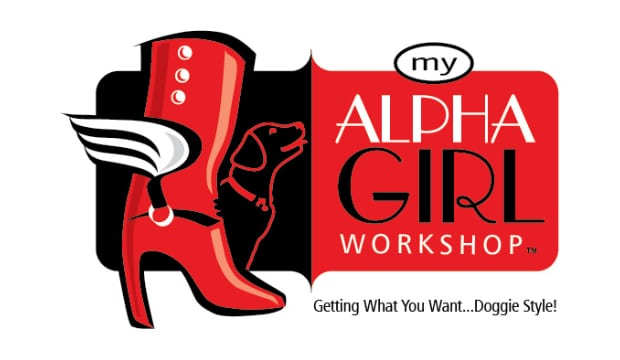 Alpha Girl Dog Training Logo