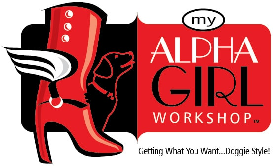 Alpha Girl Dog Training Logo Design