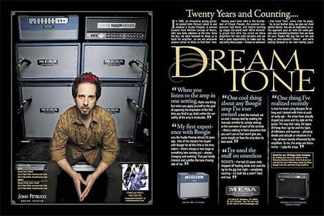 Guitar Amplifier Ad Design