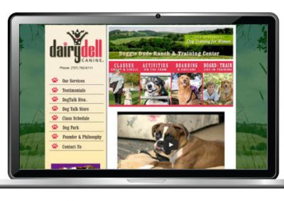 Canine Training Web Design