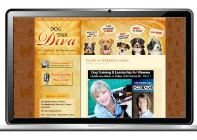 Dog Trainer Website Design