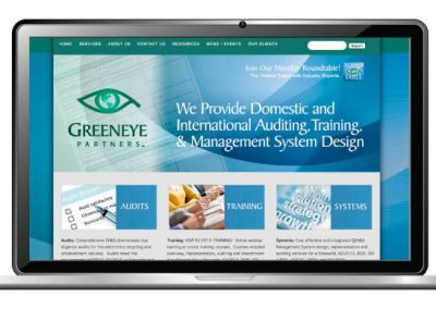 Technology Recycling Website Design
