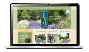 website design for biodynamic farm