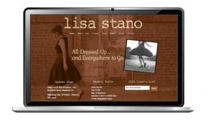 website design for singer songwriter