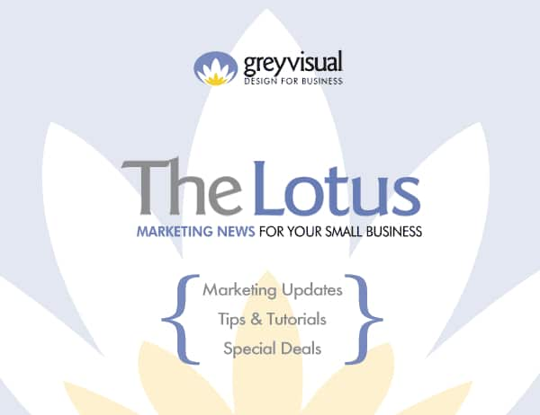 Grey Visual April Marketing Newsletter