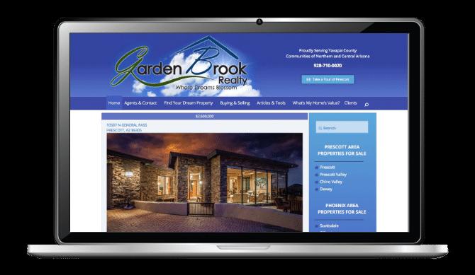 Garden Brook Realty Web Design