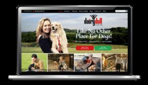 Dog Training and Boarding Website Design