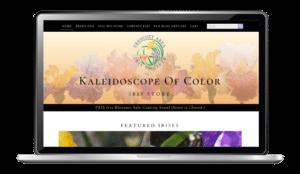 Prescott Iris Society Website Design