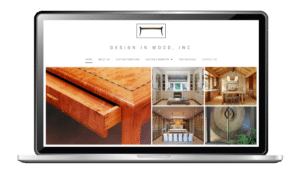 Website Design for Woodworking Craftsman