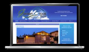 website design for Garden Brook Realty, Prescott, AZ